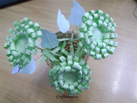 Paper For Craft - paper crafts paper chrysanthemums craft ideas
