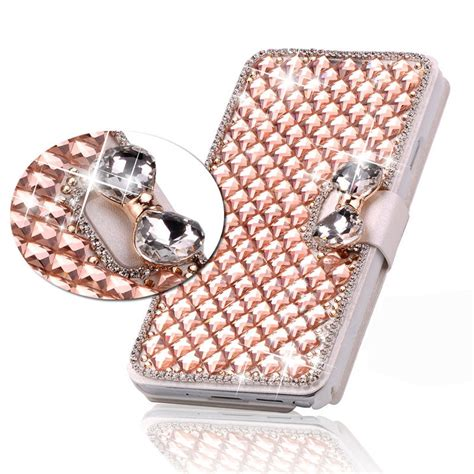 Water Glitter New 2 Asus Zenphone 5 bowknot chagne iphone 7 plus leather wallet