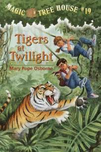 books 2 magic tree house tigers at twilight by