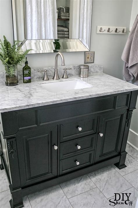 Redo Bathroom Vanity Countertop Five Ways To Update A Bathroom Centsational