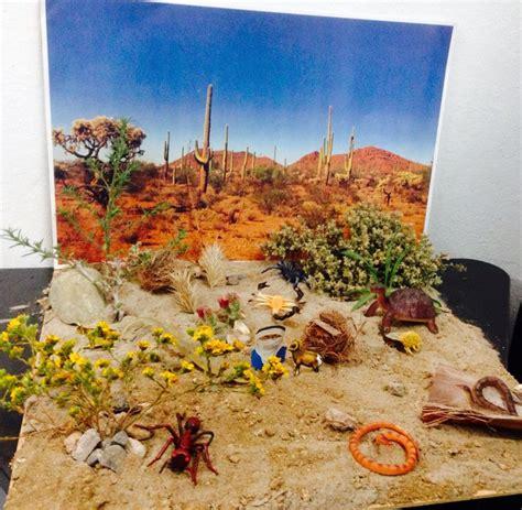 como hacer una maqueta del desierto maqueta desierto escuela pinterest