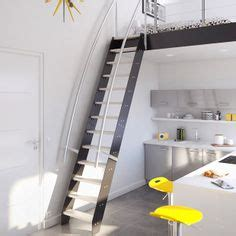 Lofts Et Associés by Wood Ship Ladder With Custom Railing Ladder In 2018