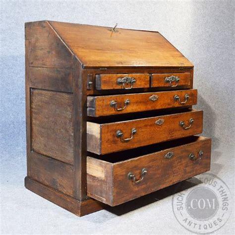 Bureau Writing Desk With Drawers by Antique Oak Bureau Large 17th Century Writing Desk