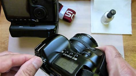 canon 40d marking the diopter adjustment knob