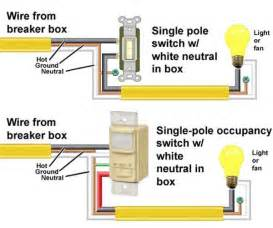 motion sensor light switch circuit diagram