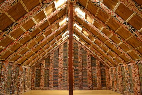 Kia Ora House Marae Sacred Maori Meeting House In Auckland Museum