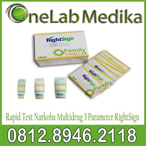 Alat Test Narkoba 3 Parameter rapidtestnarkobamultidrug3parameterrightsign onelab medika