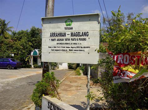 daftar alamat panti asuhan  kota magelang info seputar magelang