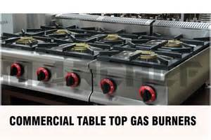 Easy Clean Gas Cooktop 4 Burners Free Standing Type Commercial Kitchen Gas Burner