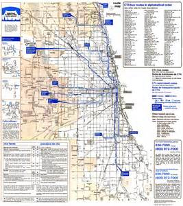 Cta Route Map by Chicago L Org System Maps Route Maps