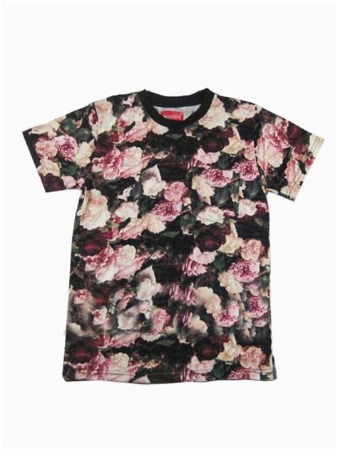 T Shirt Floral new style floral t shirt choies