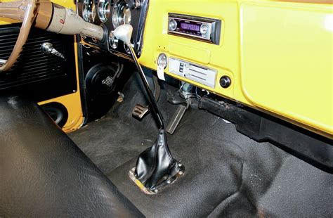 Automatic Truck Floor Shifter by Chevrolet C10 Column Shifter Conversion Back On The Tree