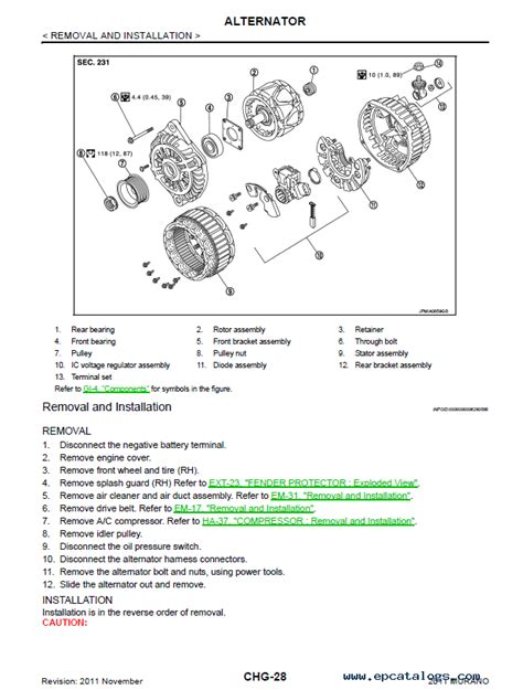 service manuals schematics 2007 nissan murano security system nissan murano model z51 series 2011 service manual pdf