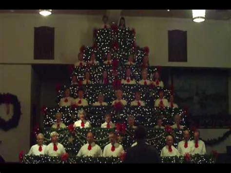 singing christmas tree in sparta north carolina youtube