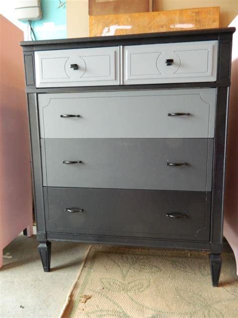 Refurbished Dressers by Grey Ombre Refurbished Dresser Diy