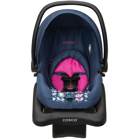 cosco light n comfy travel system cosco light n comfy dx infant car seat poppy field