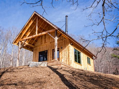board and batten cabin rustic cabin with hemlock board and batten siding traditional exterior other metro by