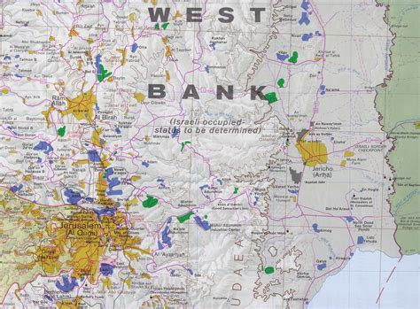 wast bank nationmaster maps of west bank 27 in total