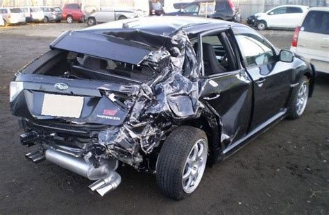crashed subaru wrx how to get the retail value of a totaled car