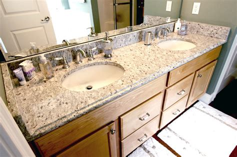 Cleveland Countertops by Granite Countertops For The Bathroom Akron Oh Traditional Bathroom Cleveland By