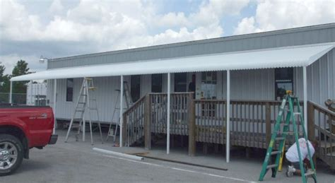 used aluminum awnings 50 foot aluminum awning haggetts aluminum