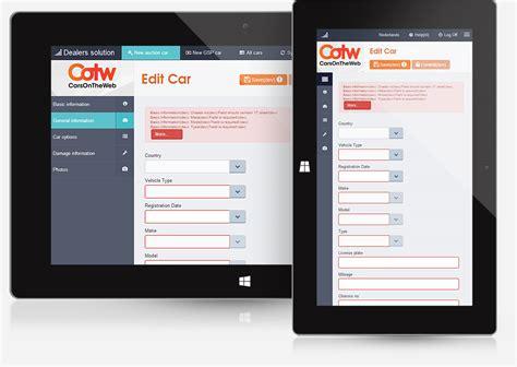 Landscape Design Web App Car Dealer Site Windows App