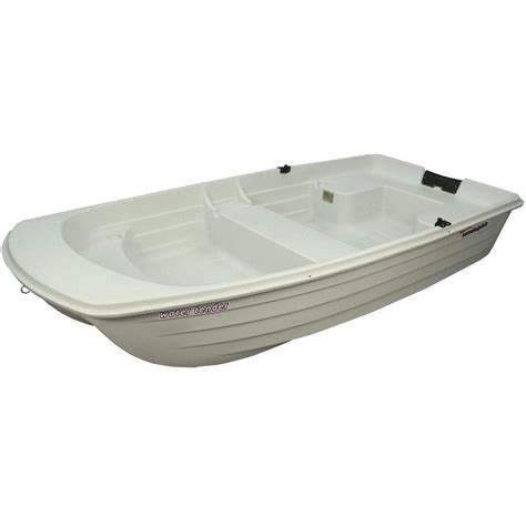 home depot boats sun dolphin 9 4 ft water tender boat wt94cw the home depot