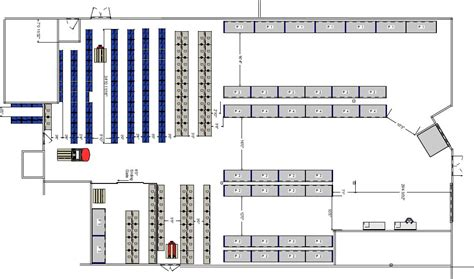 warehouse layout material flow planning warehouse design