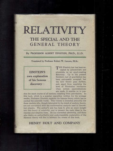 relativity the special and general theory books relativity the special and the general theory albert