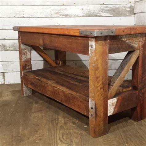 Western Style Coffee Table Buy A Made Saloon Style Western Coffee Table Made To Order From The Strong Oaks Woodshop