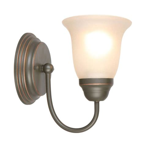 oil rubbed bronze sconces for the bathroom attractive hton bay light oil rubbed bronze sconce efhm