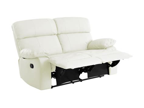 Small White Leather Recliner Choose Your Fabric