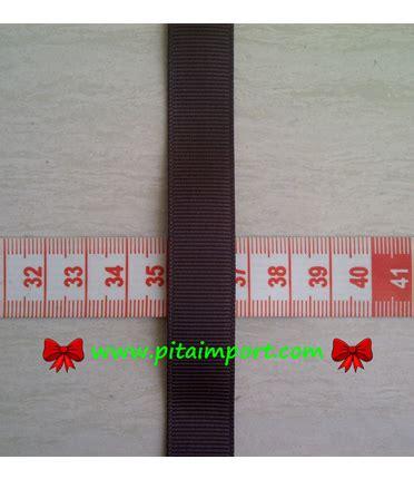 Pita Grosgrain Polos 1 5 grosgrain ukuran 1 6 cm 5 8 pitaimport www