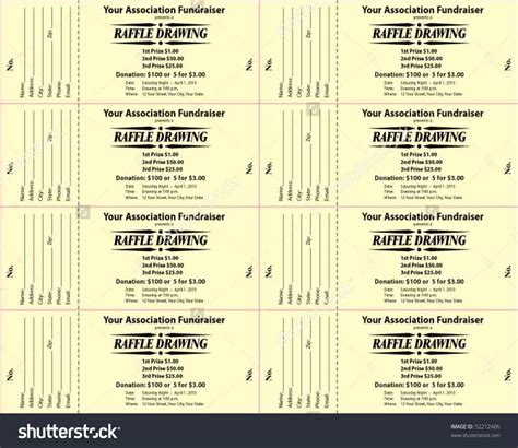 28 diy raffle ticket template diy printable custom