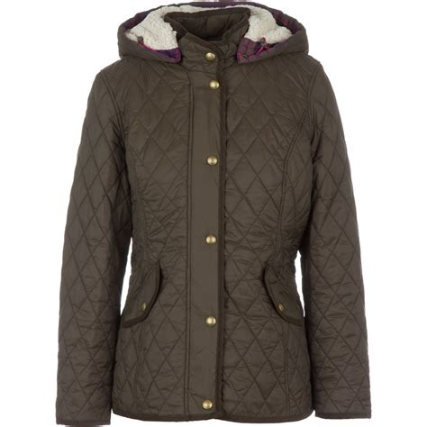 Quilted Hooded Jacket joules cottenham quilted hooded jacket s