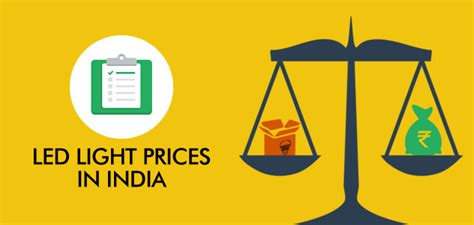 Price Of Lights Led Light Prices In India Led Lights In India