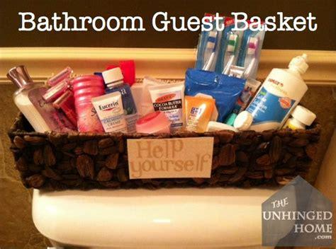 guest bathroom basket ideas 25 best ideas about guest basket on pinterest nice list