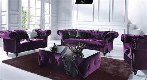 purple velvet chesterfield sofa 20 inspirations velvet purple sofas sofa ideas