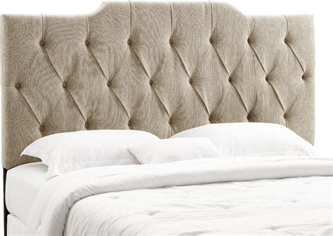 Pulaski Royale Bedroom Set by Panel Headboard Tufted Linen Transitional Headboards