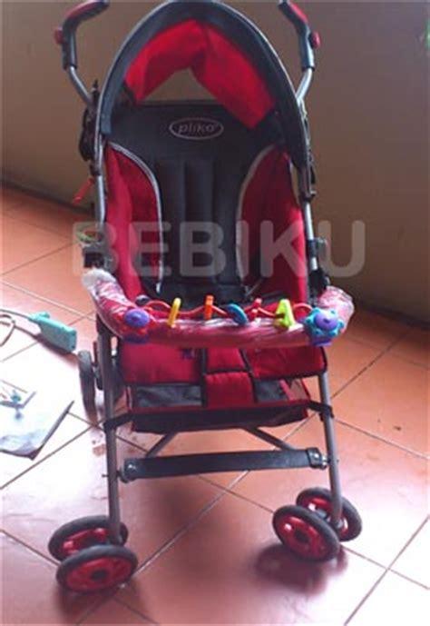 Kereta Pliko 399 Merah Murah rental stroller murah di tangerang rental alat bayi