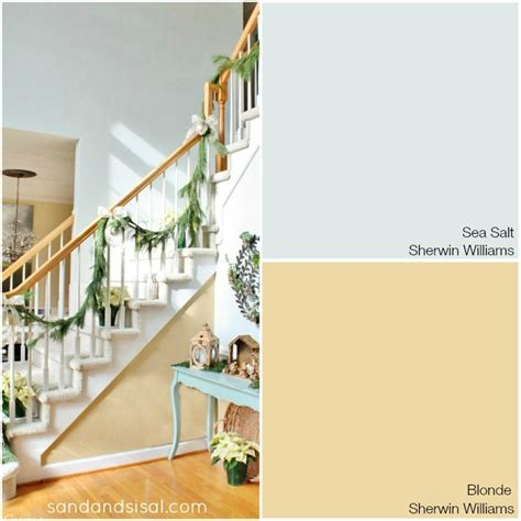 Home Color Decorating Ideas My Coastal Colors Sand And Sisal