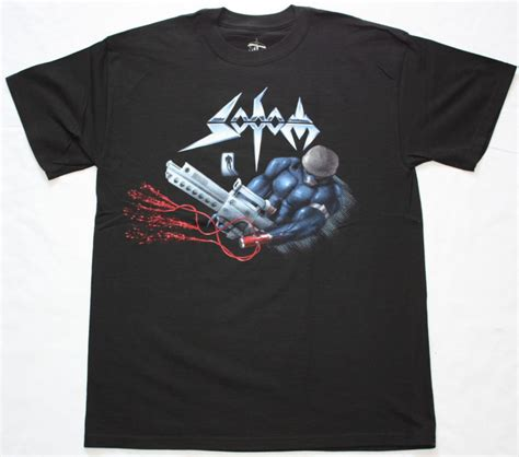 Tshirt Kreator Black sodom tapping the vein tour 92 german thrash metal kreator