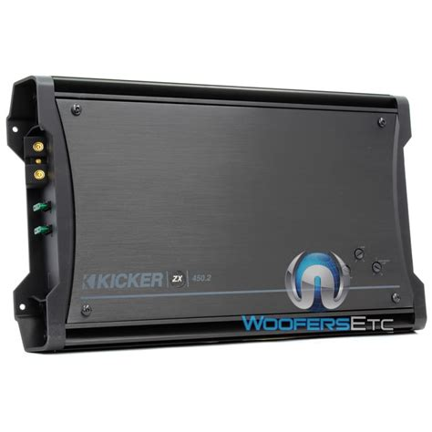 10zx450 2 kicker 2 channel 450 watt zx series lifier