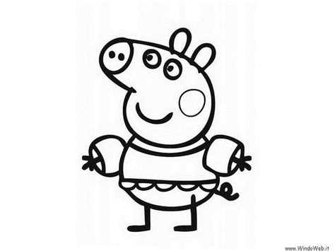 colouring pictures of peppa pig and george peppa pig coloring pages printable gallery of 20 peppa