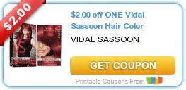 vidal sassoon hair color coupon new coupons vidal sassoon haircolor helper skillet