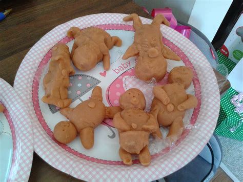 play doh bridal shower baby shower make a model of a baby in playdough and