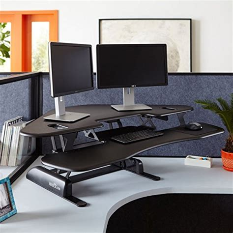 height adjustable standing desk for cubicles varidesk height adjustable standing desk for cubicles
