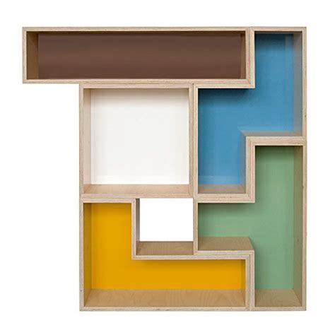 trendy furniture modular tetris shelves freshome