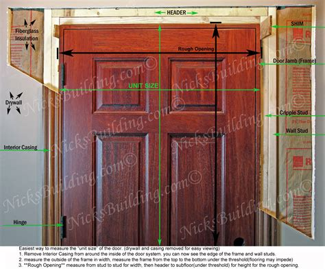 Opening For Interior Door Prehung by Prehung Interior Exterior Doors
