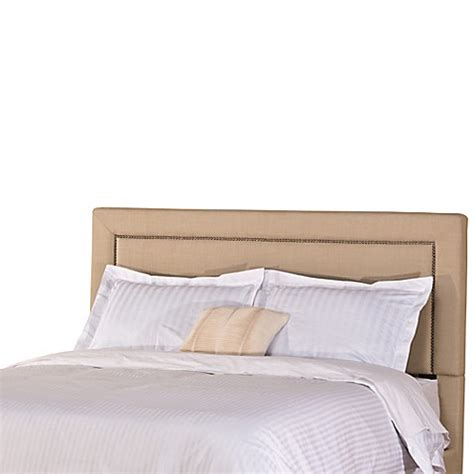 soft headboard buy hillsdale claire queen headboard in soft beige from